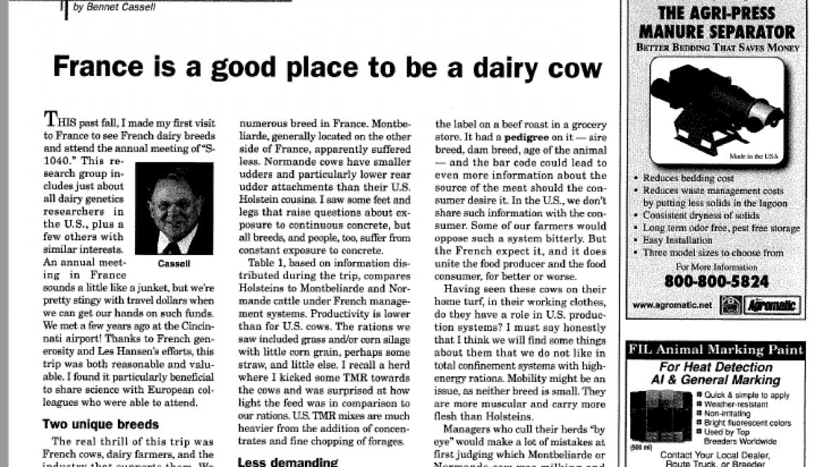 2010 02 Hoard's Dairyman Bennett Cassel cropped