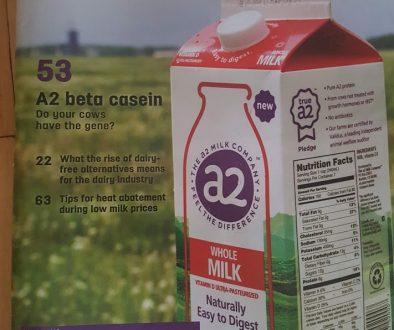2018 Progressive Dairyman cover A2 milk