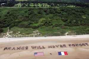 France will never forget -- Omaha Beach
